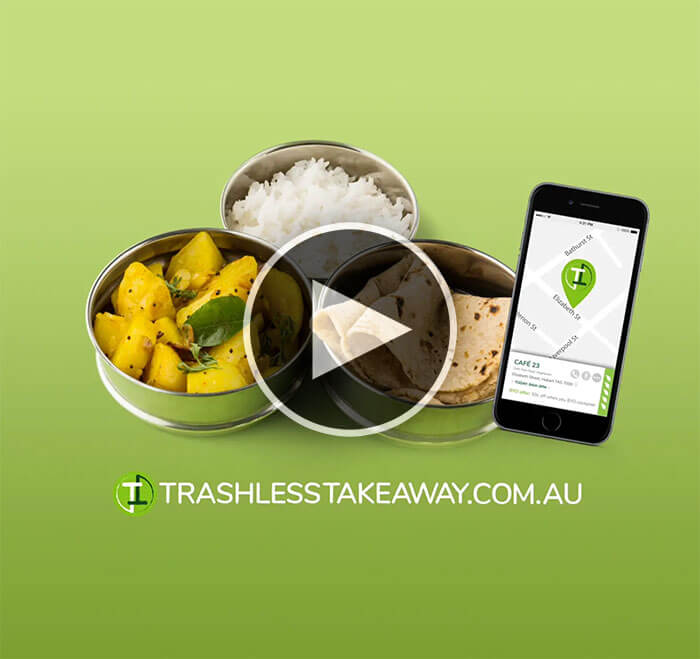 Trashless Takeaway - Find where you can BYO container for